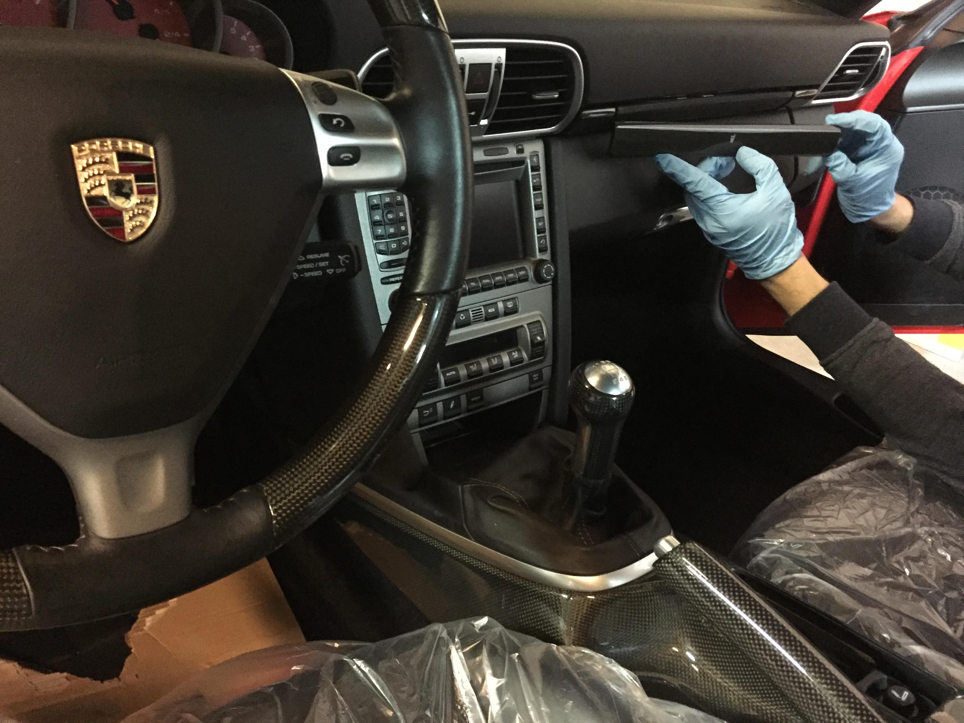 carbon reparatie auto