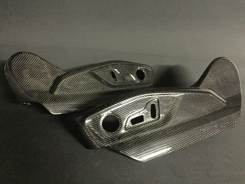 carbon chair cover Audi SQ7
